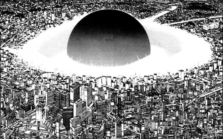 La bombe atomique sur Néo Tokyo