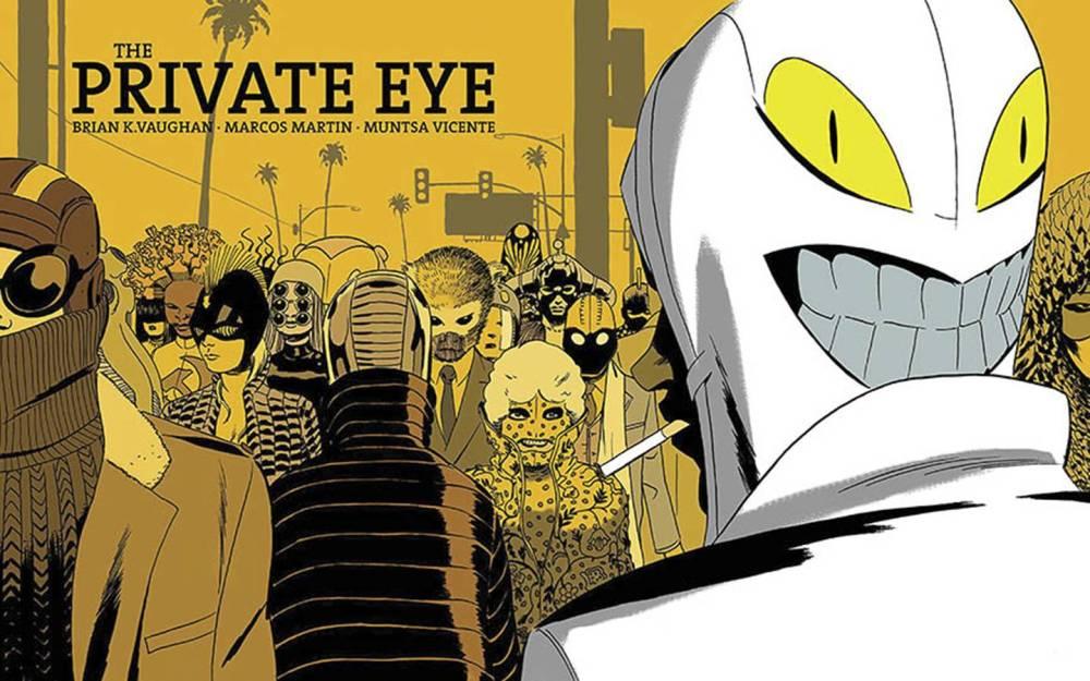 Couverture de l'ouvrage The Private Eye