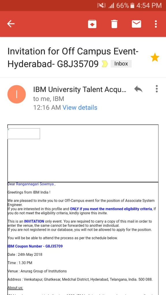 IBM Previous question papers