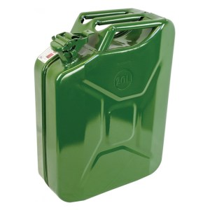 20L Green water jerry can
