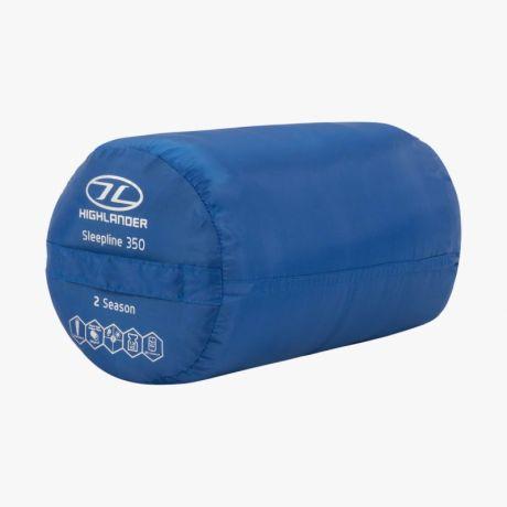 HIGHLANDER-SLEEPLINE-350-MUMMY-SLEEPING-BAG-BLUE-3