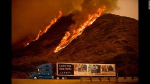 'It's a Monster': Thomas Fire Now the Largest in California's History