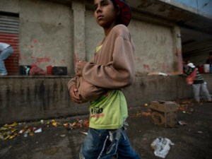 Brazil's Border Streets Are Flooded with Venezuelan Children Scavenging for Food
