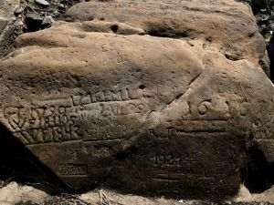'Hunger Stones' With Ominous Messages Emerge in Drought-Parched Czech River.  The stones recorded low water levels dating back to the 1600s and warn of impending hardships.