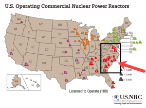 12 nuclear power plants in the Carolinas at risk of direct hit by Hurricane Florence – 2 are located right on the coast