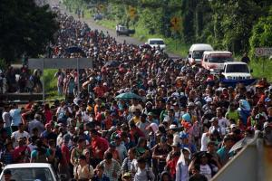 INVASION: Honduran Migrant Says 20,000 Will March Through Vehicle Lanes at Border, Claims That Applying for Asylum is 'Waste of Time'
