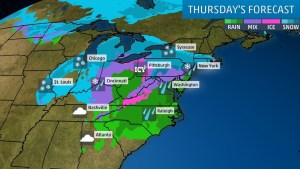 Northeast, South brace for winter storm
