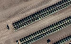 New Satellite Imagery Shows Hundreds Of Russian Battle Tanks Amassing On Ukraine Border