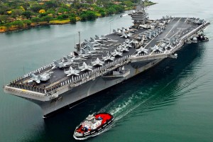 """U.S. Aircraft Carrier Heads To Persian Gulf In """"Show Of Force"""" After Iran Ballistic Missile Test"""