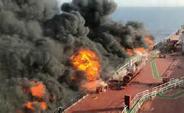 "US official 'says it's ""highly likely"" Iran was behind 'torpedo' attack in the Gulf of Oman', as tanker industry chief warns 'oil supply to entire Western world could be at risk' if the straits are deemed unsafe"
