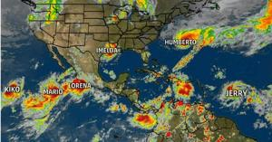 'They're forming like roaches.' The 6 tropical storms whirling at once have tied a record