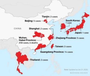 """Chinese Officials Warn Of """"Virus Mutation Spreading"""" – 440 Cases Confirmed, 9 Dead, 1,394 under medical observation."""