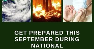 Get Prepared this September during National Preparedness Month