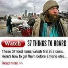 37 Things to hoard
