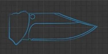 Clip Point Blade