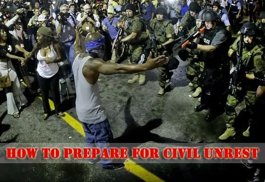 Prepper's Will - Preparing for Civil Unrest