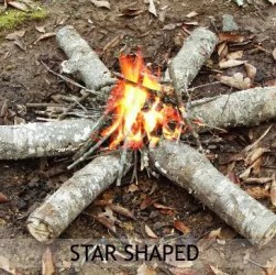 Star Shaped Fire