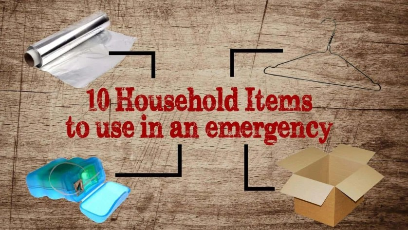 Prepper's Will - Ten household items to use in an emergency