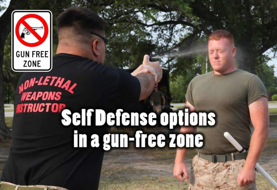 Prepper's Will - Self defense in a gun-free zone