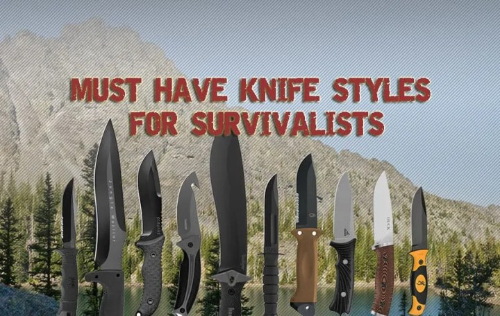 Prepper's Will - Must have survival knife styles for the survivalists