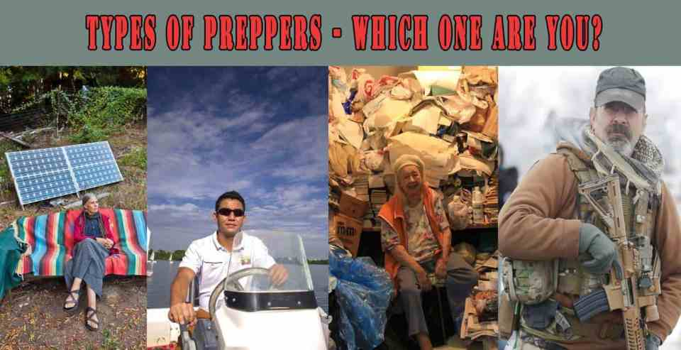 Prepper's Will - Types of preppers - Which one are you?