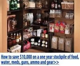 Learn how to stockpile.