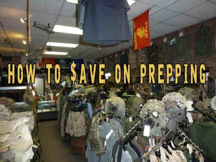 Prepper's Will - How to save on prepping