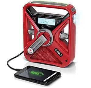 American Red Cross frx3 hand crank radio