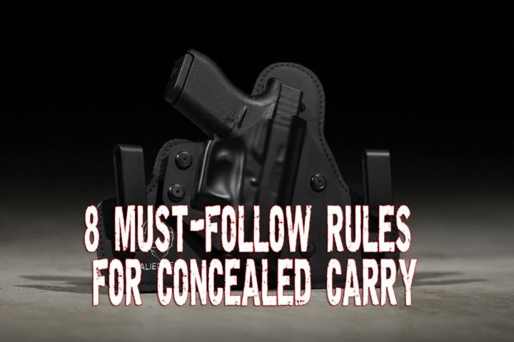 8 Must-follow Rules for Concealed Carry