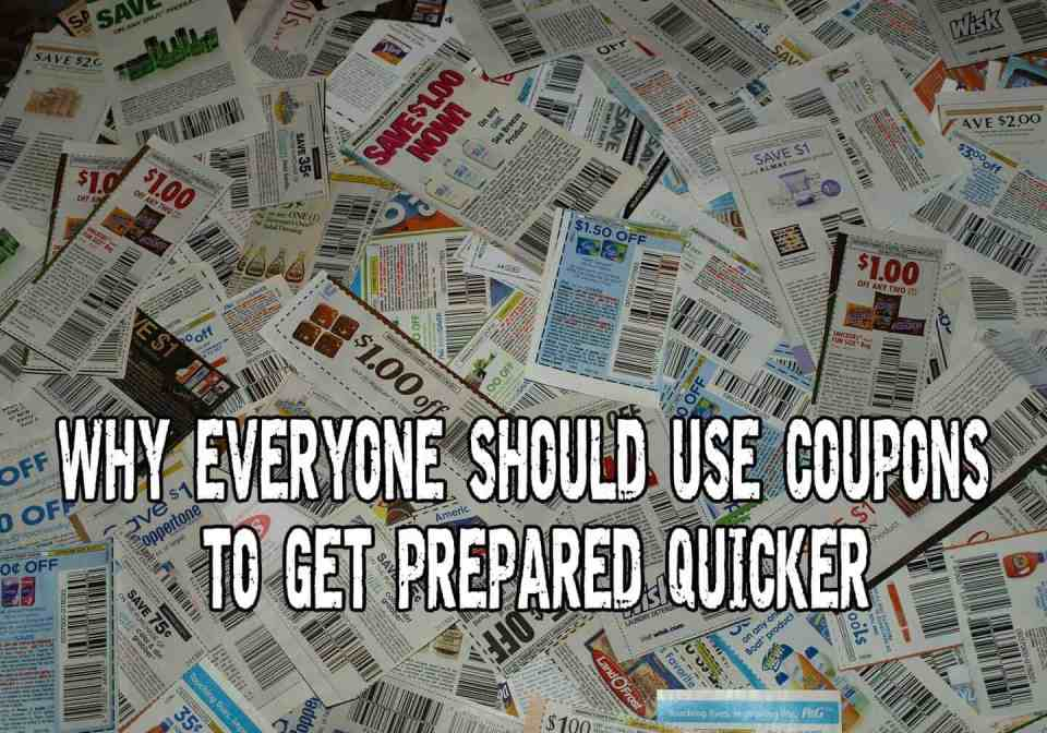Why Everyone Should Use Coupons To Get Prepared Quicker