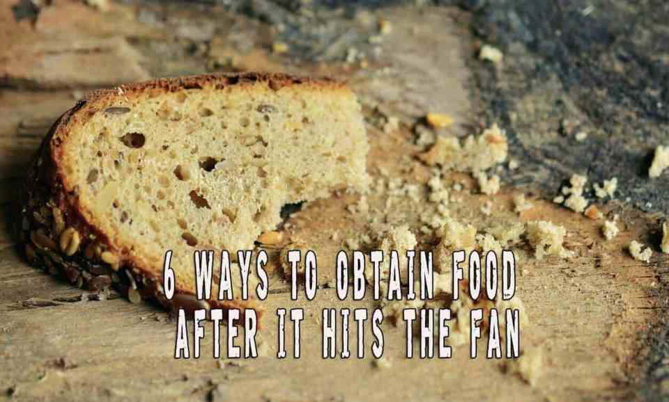 Six Ways To Obtain Food After It Hits The Fan
