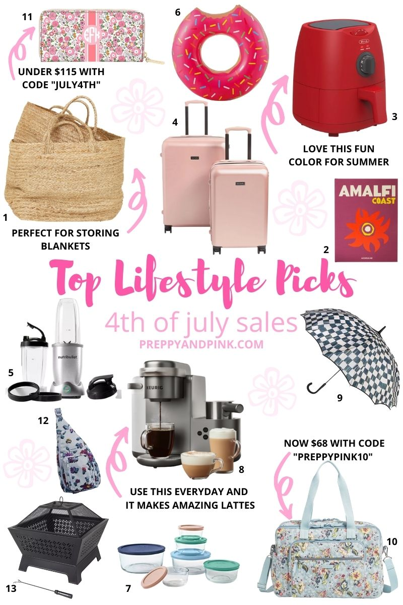 best home and lifestyle items to buy this 4th of july
