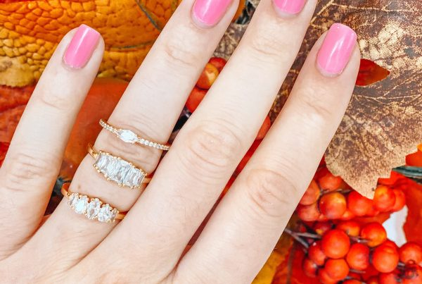 gold rings for fall from bauble bar