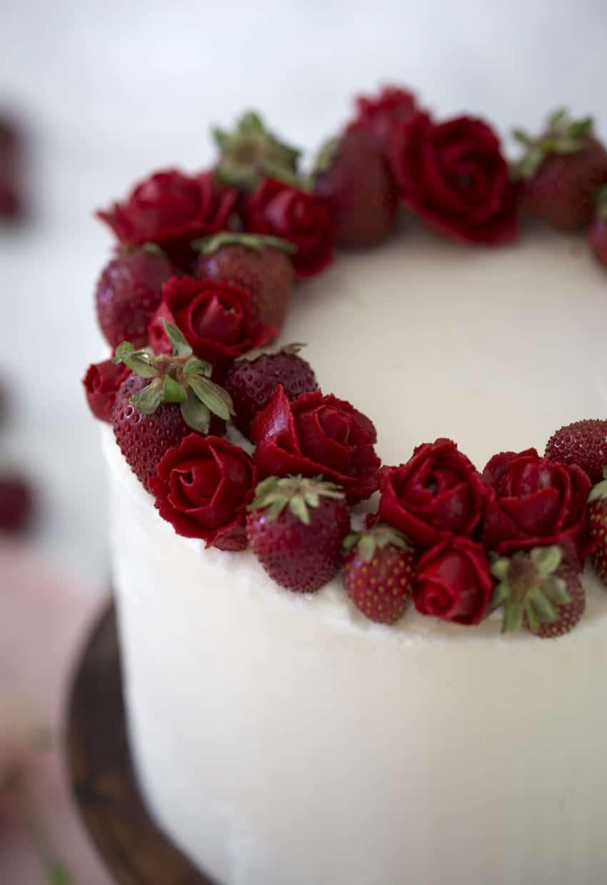Strawberry Cake Preppy Kitchen
