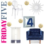 {Friday Five} Living Room Pieces