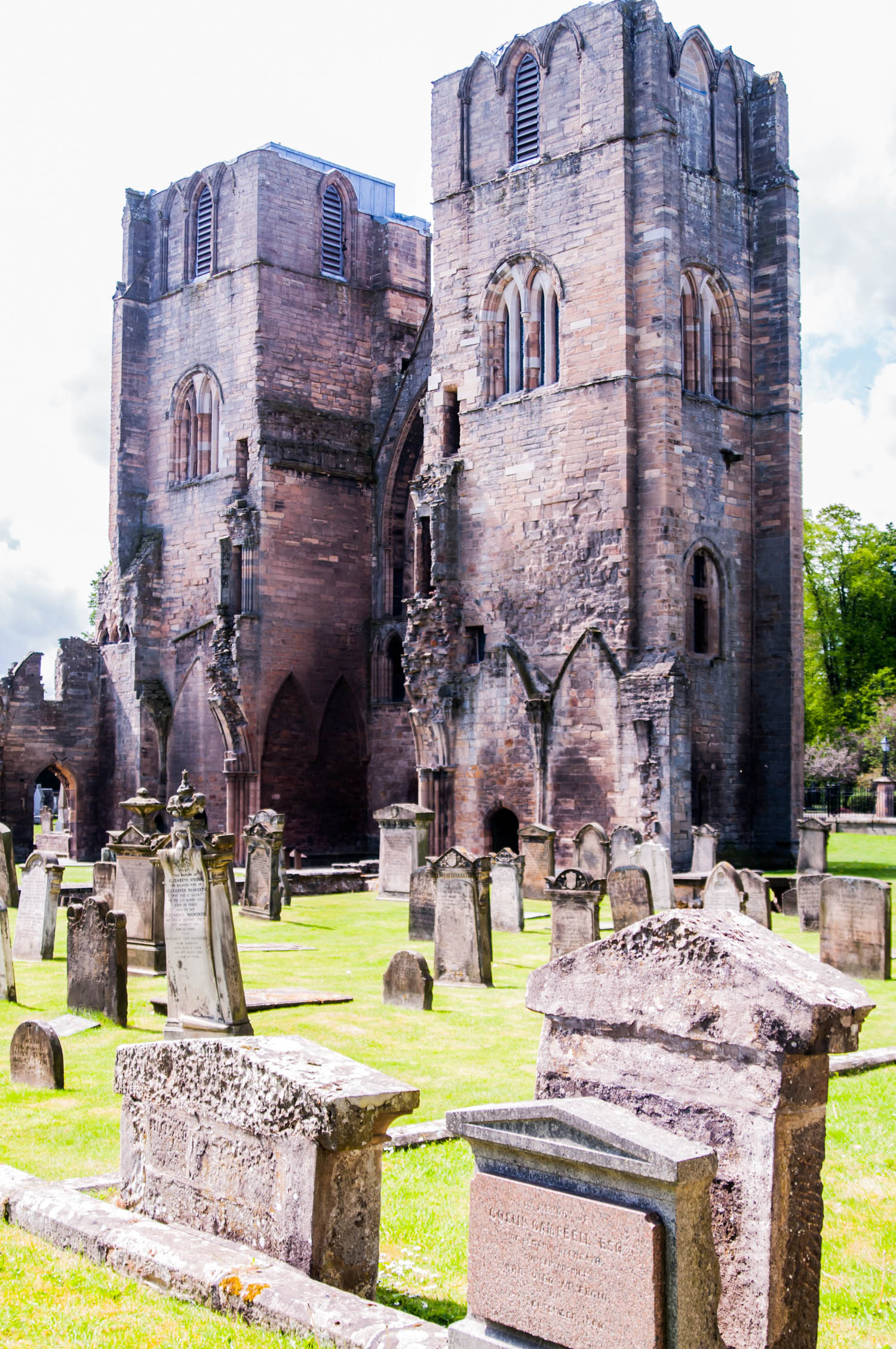 elgin scotland cathedral