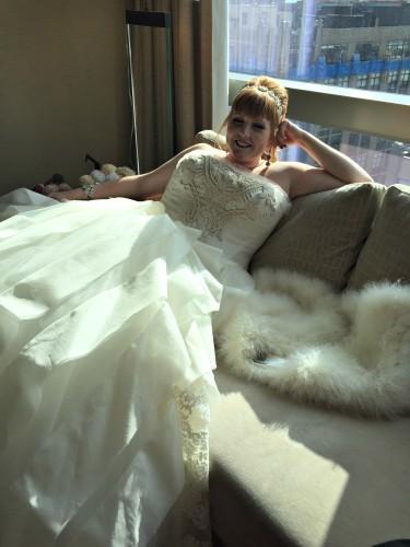 Lacey Vera Wang Dress