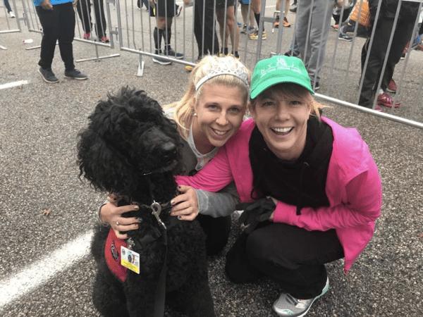 therapy dogs nyc marathon