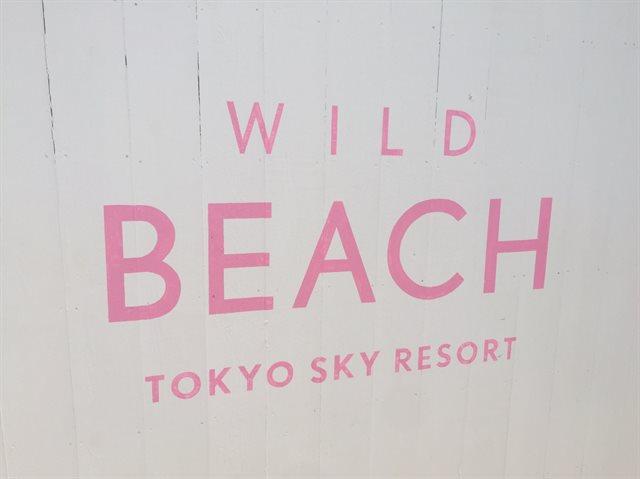 ワイルドビーチ入口