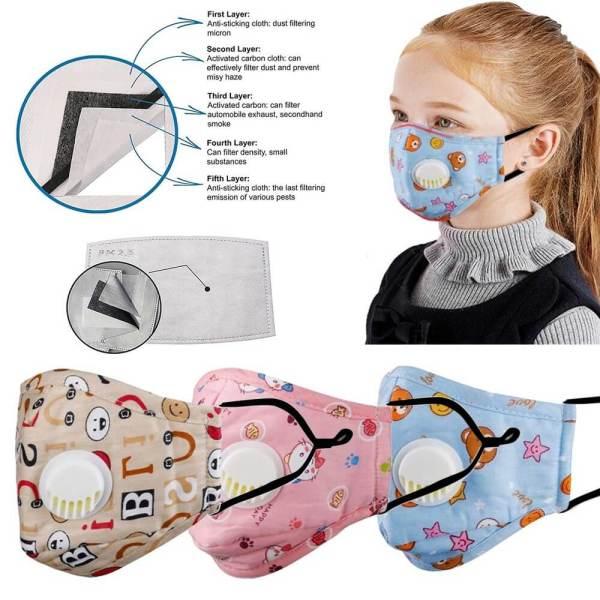 Ersatzfilter Kinder Gesichtsmasken