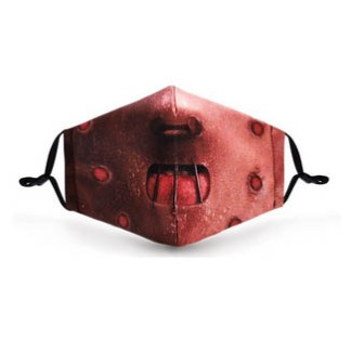 Gesichtsmaske Motiv Hannibal
