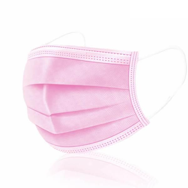Mund und Nasenschutz - rosa