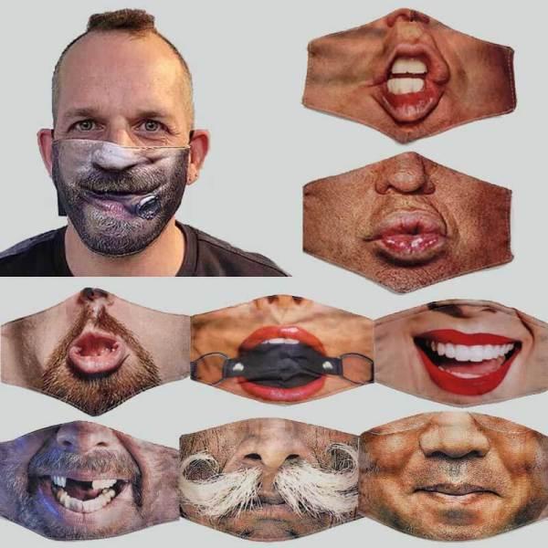 Funny Face Gesichtsmasken