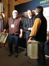 Scott and Todd networking with Norm Abrams of This Old House