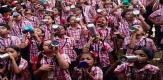 Karnataka school rings bell for reminding students to drink water
