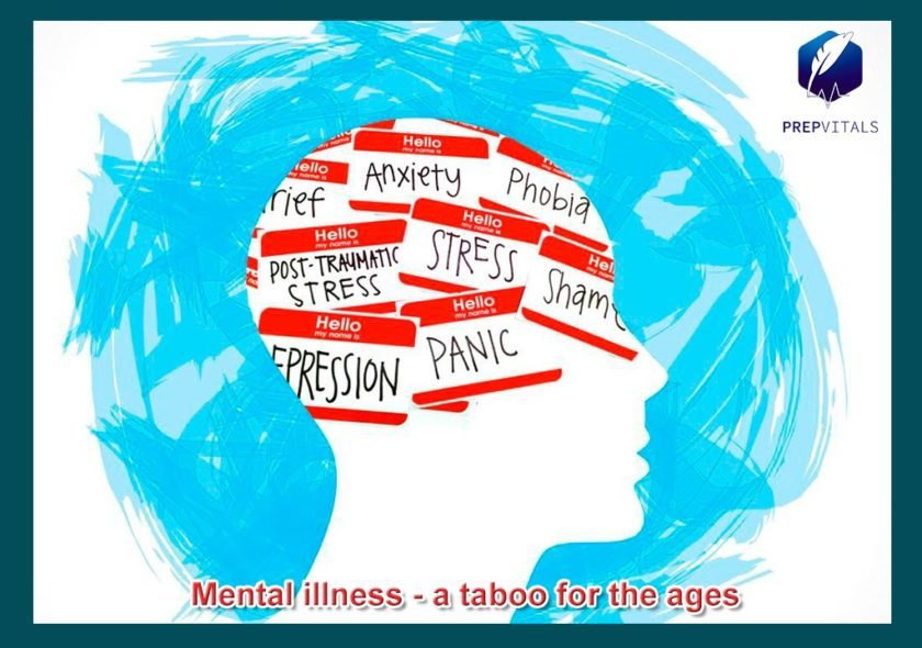 Mental Illness: A taboo for the ages