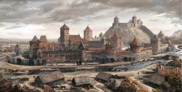 Вильнюс - Башня Гедимина и Замковая гора