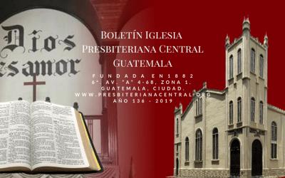 Boletin Domingo 5 de abril 2020
