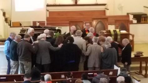 Chartering First Hispanic Presbyterian Church of Fayetteville Nov 2017