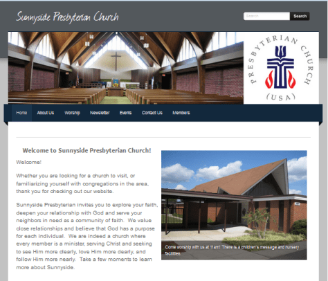 sunnyside home page